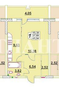 Продается 1-комнатная квартира на ул. Малиновского Марш. — 25 000 у.е. (фото №2)