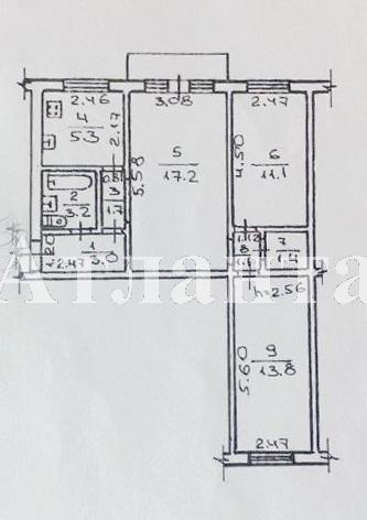 Продается 3-комнатная квартира на ул. Балковская — 30 000 у.е. (фото №5)
