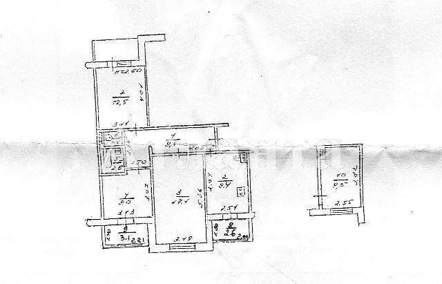 Продается 3-комнатная квартира на ул. Днепропетр. Дор. — 65 000 у.е. (фото №17)