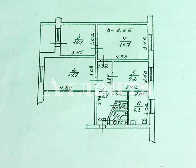 Продается 3-комнатная квартира на ул. Ойстраха Давида — 37 000 у.е. (фото №17)