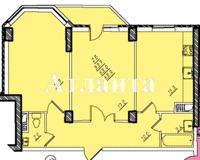 Продается 2-комнатная квартира на ул. Проценко — 56 000 у.е. (фото №11)