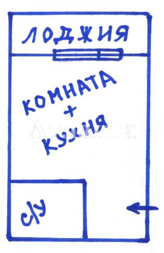 Продается 1-комнатная квартира на ул. Бочарова Ген. — 16 000 у.е. (фото №5)