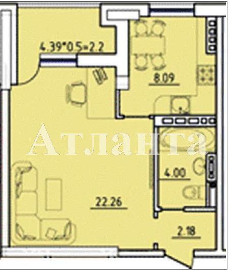 Продается 1-комнатная квартира в новострое на ул. Бочарова Ген. — 30 000 у.е. (фото №2)