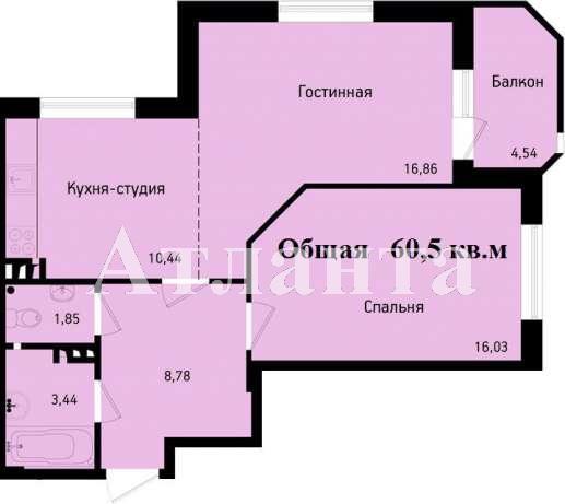Продается 2-комнатная квартира на ул. Николаевская — 39 500 у.е. (фото №7)