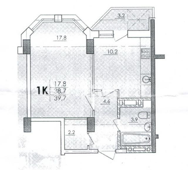 Продается 1-комнатная квартира в новострое на ул. Паустовского — 25 000 у.е. (фото №2)