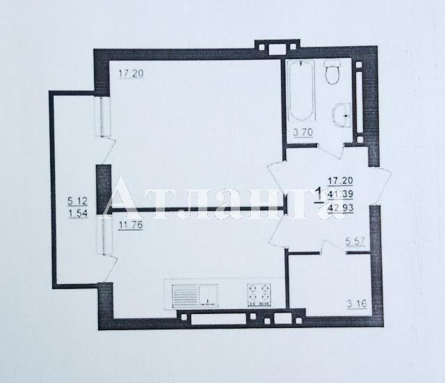 Продается 1-комнатная квартира в новострое на ул. Днепропетр. Дор. — 30 000 у.е. (фото №7)