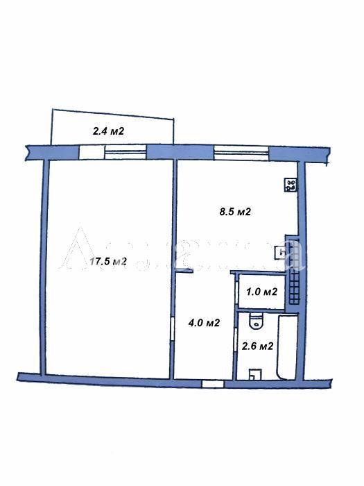 Продается 1-комнатная квартира на ул. Заболотного Ак. — 31 500 у.е. (фото №12)
