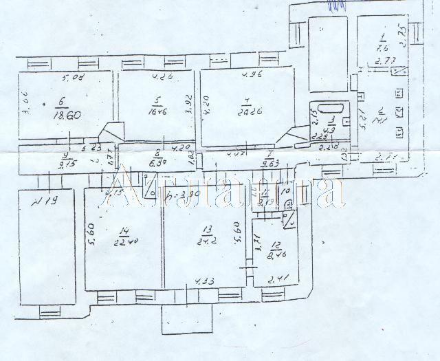 Продается 6-комнатная квартира на ул. Жуковского — 150 000 у.е.