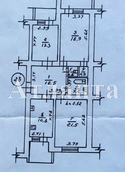 Продается 3-комнатная квартира на ул. Пишоновская — 87 000 у.е. (фото №13)