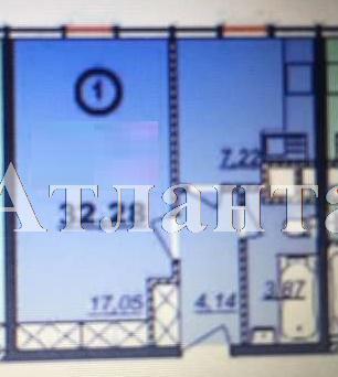 Продается 1-комнатная квартира в новострое на ул. Болгарская — 24 000 у.е. (фото №2)