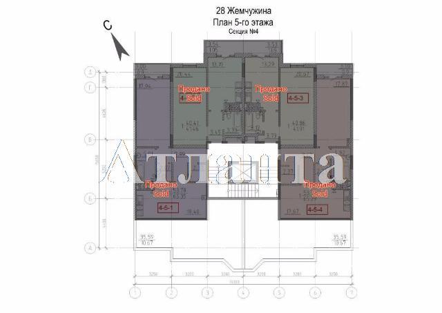 Продается 3-комнатная квартира в новострое на ул. Фонтанская Дор. — 171 000 у.е. (фото №4)