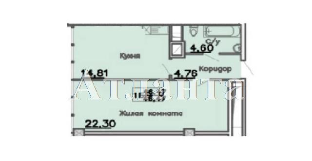 Продается 1-комнатная квартира в новострое на ул. Большая Арнаутская — 60 500 у.е. (фото №2)