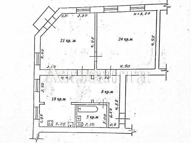 Продается 3-комнатная квартира на ул. Малая Арнаутская — 95 000 у.е. (фото №12)