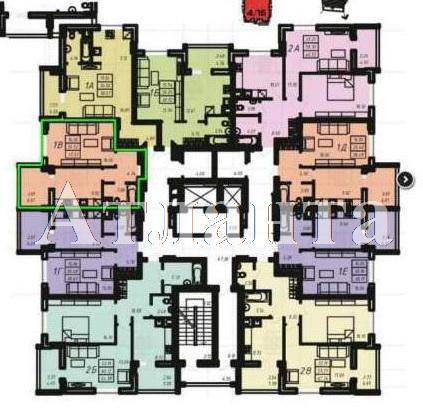 Продается 1-комнатная квартира в новострое на ул. Радужный 2 М-Н — 26 500 у.е. (фото №3)