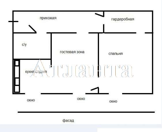 Продается 2-комнатная квартира на ул. Французский Бул. — 115 000 у.е. (фото №11)