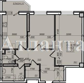 Продается 2-комнатная квартира в новострое на ул. Дюковская — 55 000 у.е. (фото №2)