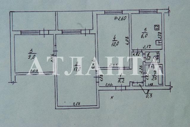 Продается 3-комнатная квартира на ул. Бочарова Ген. — 40 000 у.е. (фото №8)