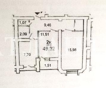 Продается 2-комнатная квартира в новострое на ул. Бочарова Ген. — 33 000 у.е. (фото №2)