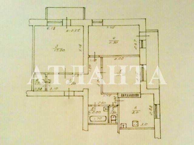 Продается 3-комнатная квартира на ул. Заболотного Ак. — 51 000 у.е. (фото №14)