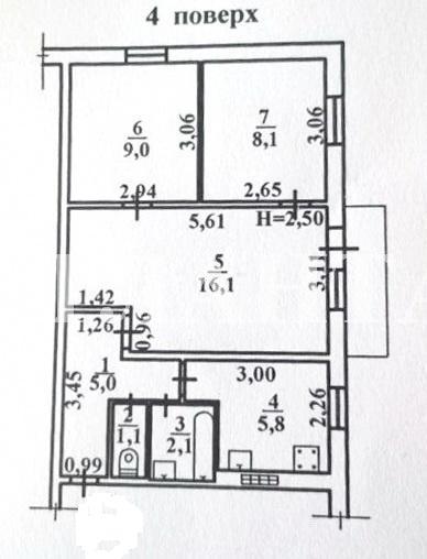 Продается 3-комнатная квартира на ул. Марсельская — 24 000 у.е. (фото №4)