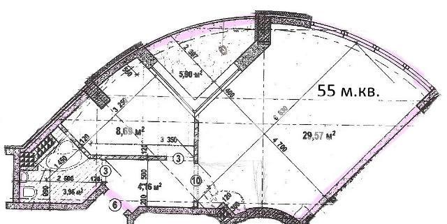 Продается 1-комнатная квартира на ул. Героев Сталинграда — 51 000 у.е. (фото №2)