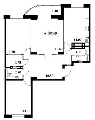 Продается 3-комнатная квартира на ул. Школьная — 48 000 у.е. (фото №2)