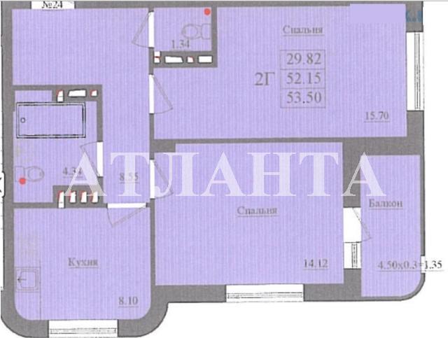 Продается 2-комнатная квартира на ул. Николаевская — 54 000 у.е. (фото №23)