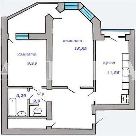 Продается 2-комнатная квартира в новострое на ул. Бочарова Ген. — 35 000 у.е. (фото №2)