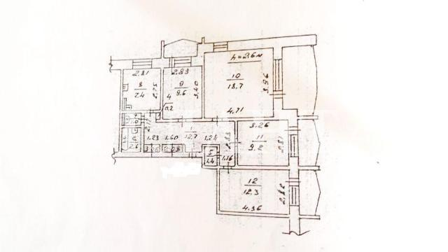 Продается 4-комнатная квартира на ул. Бочарова Ген. — 58 000 у.е. (фото №11)