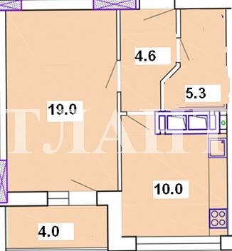 Продается 1-комнатная квартира на ул. Марсельская — 42 000 у.е. (фото №7)