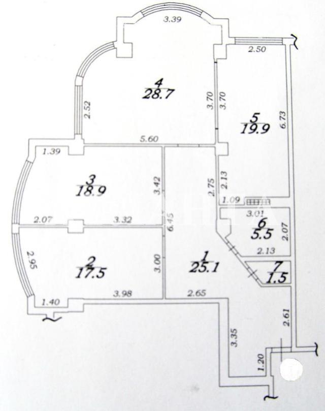Продается 3-комнатная квартира на ул. Французский Бул. — 225 000 у.е. (фото №23)