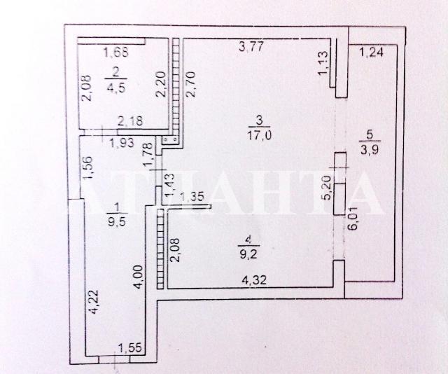 Продается 1-комнатная квартира на ул. Высоцкого — 26 500 у.е. (фото №7)