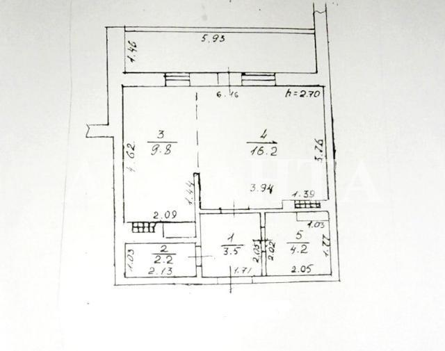 Продается 1-комнатная квартира на ул. Высоцкого — 20 000 у.е. (фото №2)