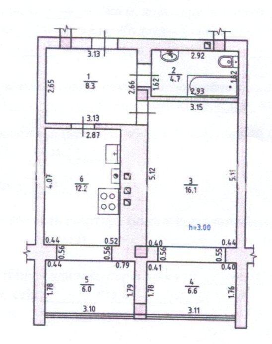 Продается 1-комнатная квартира на ул. Миланская — 53 000 у.е. (фото №17)