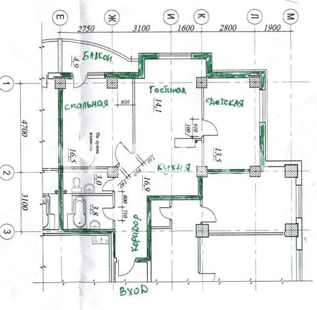 Продается 3-комнатная квартира в новострое на ул. Бочарова Ген. — 42 000 у.е. (фото №11)