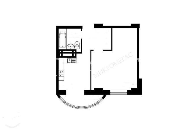 Продается 1-комнатная квартира на ул. Школьная — 28 000 у.е. (фото №4)