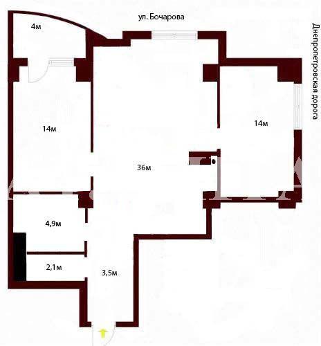 Продается 2-комнатная квартира в новострое на ул. Бочарова Ген. — 39 000 у.е. (фото №2)