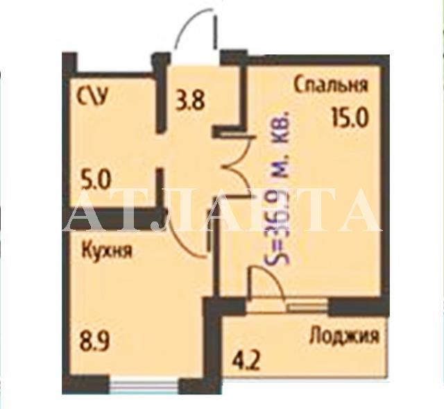 Продается 1-комнатная квартира на ул. Бочарова Ген. — 42 000 у.е. (фото №19)
