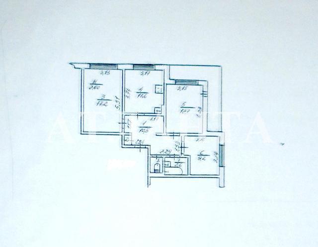 Продается 3-комнатная квартира на ул. Днепропетр. Дор. — 36 000 у.е. (фото №11)