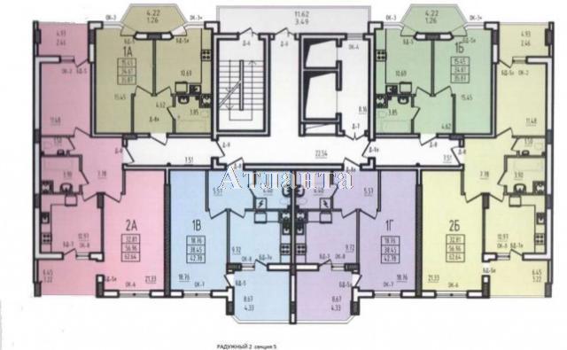 Продается 1-комнатная квартира на ул. Радужный 2 М-Н — 33 000 у.е. (фото №2)