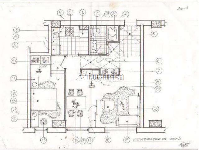 Продается 2-комнатная квартира на ул. Гагаринское Плато — 52 000 у.е. (фото №3)