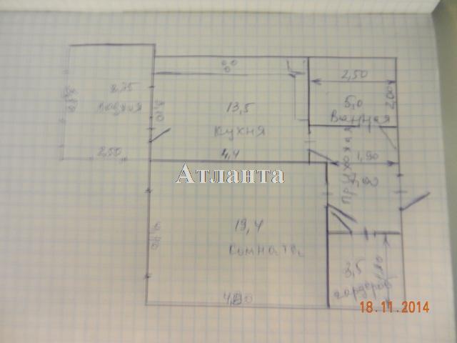 Продается 1-комнатная квартира на ул. Тополевая — 60 000 у.е. (фото №12)