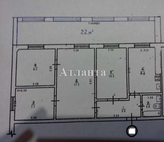 Продается 4-комнатная квартира на ул. Радостная — 60 000 у.е. (фото №12)