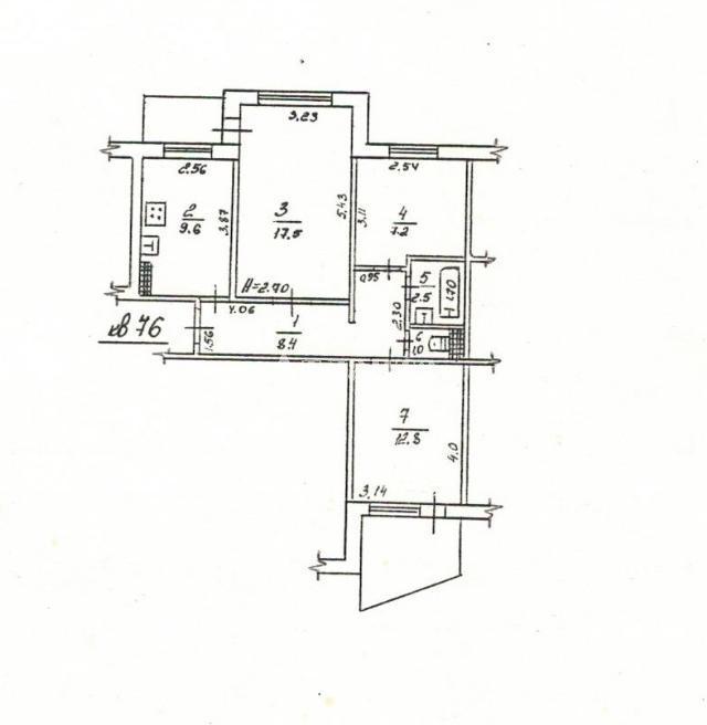 Продается 3-комнатная квартира на ул. Ильфа И Петрова — 51 000 у.е.