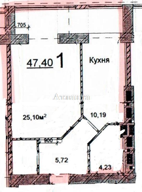 Продается 1-комнатная квартира на ул. Грушевского Михаила — 26 000 у.е.