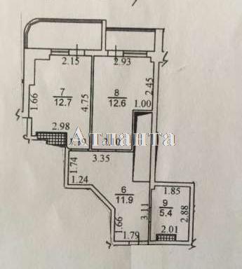 Продается 3-комнатная квартира на ул. Артиллерийская — 85 000 у.е.
