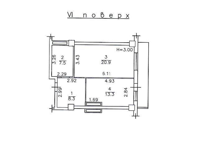 Продается 1-комнатная квартира в новострое на ул. Армейская — 57 000 у.е.