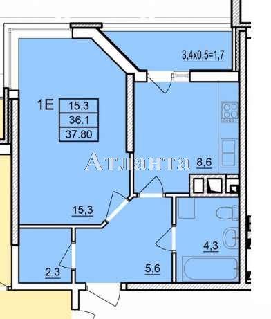 Продается 1-комнатная квартира в новострое на ул. Балковская — 26 000 у.е.