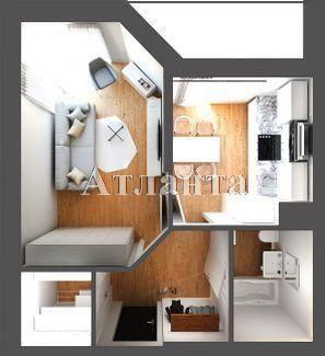 Продается 1-комнатная квартира в новострое на ул. Балковская — 27 000 у.е. (фото №3)