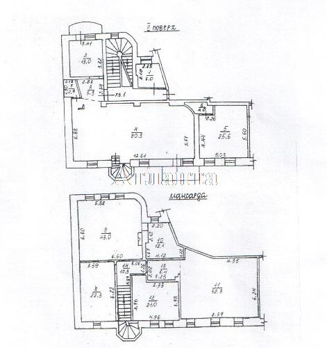Продается 7-комнатная квартира на ул. Лидерсовский Бул. — 400 000 у.е. (фото №16)